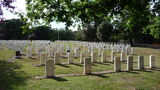Picture relating to Woden Valley - titled 'Woden Valley Cemetery Second World War Graves Section'