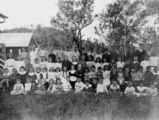 Picture relating to Moore - titled 'Students at Moore State School, Queensland, 1909'