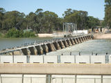 Picture relating to Blanchetown - titled 'Lock 1 Murray River, BLANCHETOWN'
