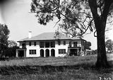 Picture relating to Adelaide Avenue - titled 'Prime Minister's Lodge, Adelaide Avenue, Deakin, from the north.'