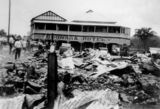 Picture relating to Goomeri - titled 'Boonara Hotel and the ruins of the Grand Hotel, Goomeri, 1939'