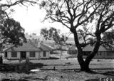 Picture relating to Parkes - titled 'Oakley and Parkes cottages, Dominion Circuit, Forrest.'